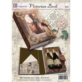 BASTELSETS / CRAFT KITS kit DIY completa para a caixa de presente um livro