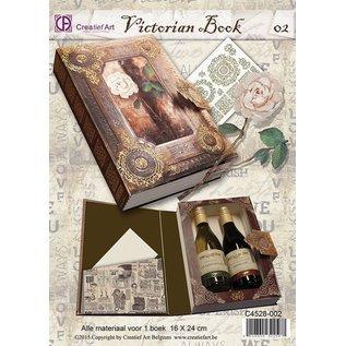 BASTELSETS / CRAFT KITS complete knutsel set voor 1 Cadeau boek doos