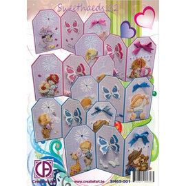 BASTELSETS / CRAFT KITS cartões kit completo: Sweetheads