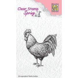 Nellie Snellen Transparent stamp: Hahn