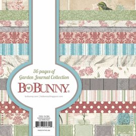 BO BUNNY Designer Bloc: Garden Journal Collection