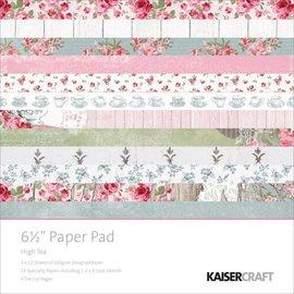 Kaisercraft und K&Company Designerblock: High tea