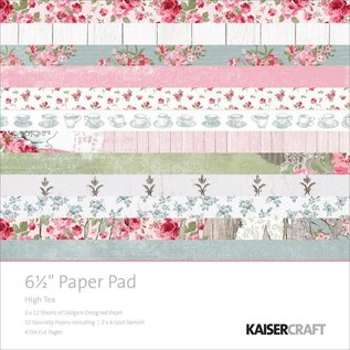 Kaisercraft und K&Company Designerblock: High tea