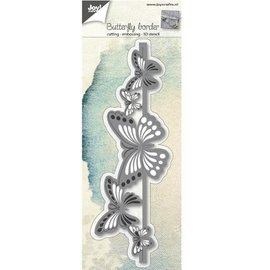 Joy!Crafts / Jeanine´s Art, Hobby Solutions Dies /  matrices de coupe: border papillon 3D