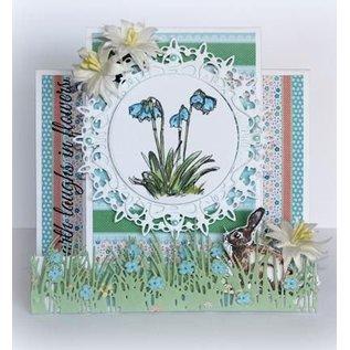 Joy!Crafts / Hobby Solutions Dies Stanzschablonen: Gras Bordüre mit Blumen