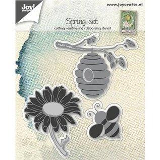 Joy!Crafts / Hobby Solutions Dies Skæring dies: Bee kurv og solsikke