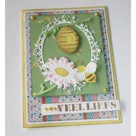 Joy!Crafts / Jeanine´s Art, Hobby Solutions Dies /  Stanzschablonen: Biene, Korb und Sonnenblume