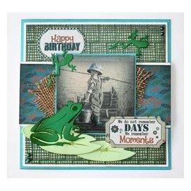 Joy!Crafts / Jeanine´s Art, Hobby Solutions Dies /  meurt coupe: grenouilles et nénuphar
