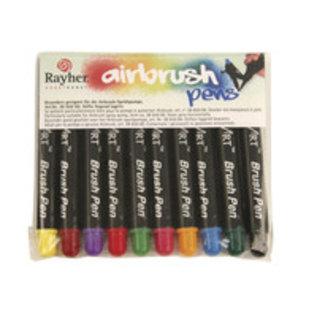 BASTELZUBEHÖR, WERKZEUG UND AUFBEWAHRUNG Air Brush penne, 10 pins
