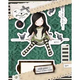 Gorjuss / Santoro timbre en caoutchouc de Urban, sur Top Of The World - seulement 1 toujours disponible!