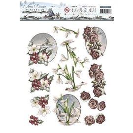 AMY DESIGN Stanzbogen: Blumen