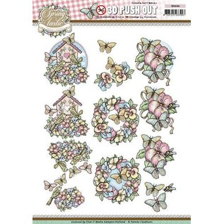 Yvonne Creations Die cut sheets: Spring