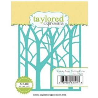Taylored Expressions Stansning skabelon: træer i skoven