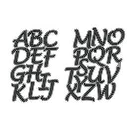 Joy!Crafts Stanzschablone: Buchstaben