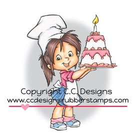 C.C.Designs Gummi stempel, Baker Nancy