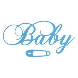 Marianne Design Stansmessen: Tekst BABY