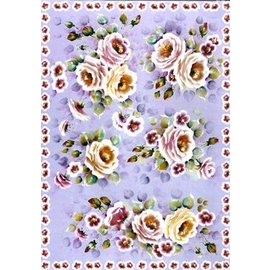 DECOUPAGE AND ACCESSOIRES Decoupage papir Finmark Tender Roses