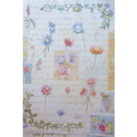 DECOUPAGE AND ACCESSOIRES carta decoupage Finmark botanico