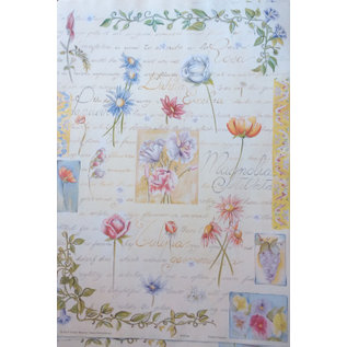 DECOUPAGE AND ACCESSOIRES Decoupage paper Finmark Botanical