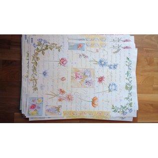 DECOUPAGE AND ACCESSOIRES Decoupage papir Finmark Botanisk