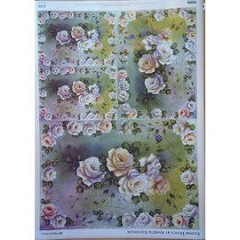 DECOUPAGE AND ACCESSOIRES Decoupage papier Flower Design