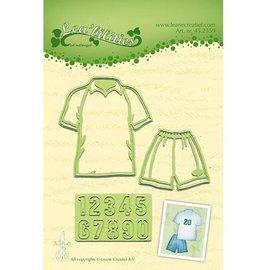 Leane Creatief - Lea'bilities Matrizes de corte: Figuras Sportswear +