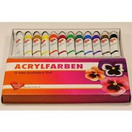 couleurs acryliques