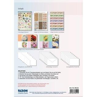 Komplett Sets / Kits Complete card set for 8 folded cards!