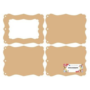 Objekten zum Dekorieren / objects for decorating Hollandsk DooBaDoo: MDF mini album fotoramme