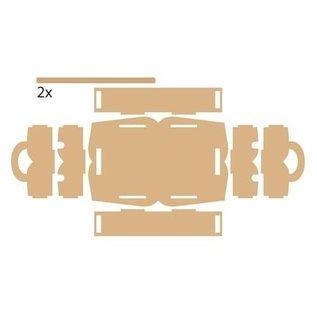 Objekten zum Dekorieren / objects for decorating holtz Box zur Aufbewahrung von Dekobänder