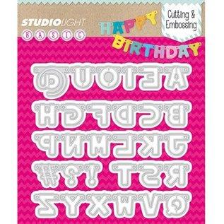 Studio Light Stanzschablonen: Buchstaben
