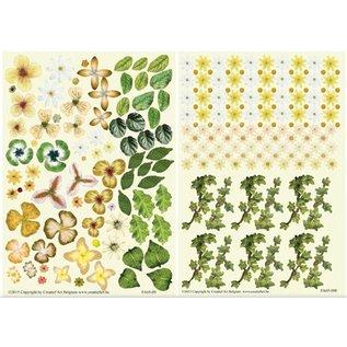 BLUMEN (MINI) UND ACCESOIRES Twin Pack flowerart, jaune