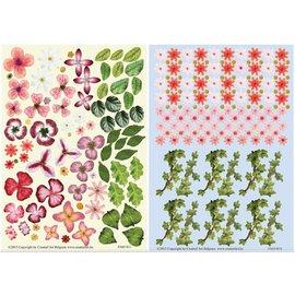 BLUMEN (MINI) UND ACCESOIRES Twin Pack flowerart, rood