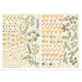 BLUMEN (MINI) UND ACCESOIRES Twin Pack flowerart, tons jaunes, petite