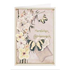 BLUMEN (MINI) UND ACCESOIRES Twinpack FlowerArt, gelbtöne, klein