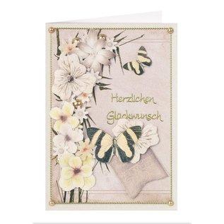 BLUMEN (MINI) UND ACCESOIRES Twin Pack flowerart, gele tinten, kleine