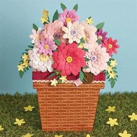 Docrafts / X-Cut Stansning skabelon: Blomster