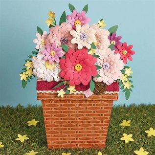 Docrafts / X-Cut Stanzschablone: Blumen