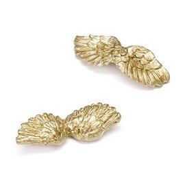 Embellishments / Verzierungen Ailes d'ange, or, 4,5 cm, 6 pièces.