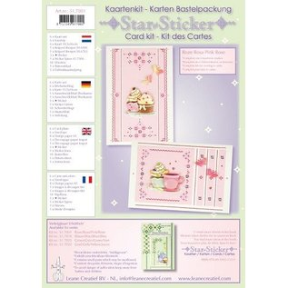 Star stickers kaarten compleet kit voor 6 kaarten