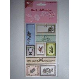 Cetim adesivas Marcações, Vintage 1
