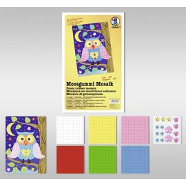 "Kinder Bastelsets / Kids Craft Kits Moosgummi Mosaik ""Eule"""