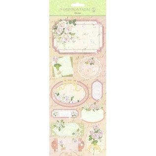 Sticker Sticker: zur Kartengestaltung, Verzierung usw., verschiedene Motive, Nr. 16