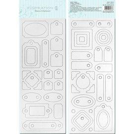 Blanco placa de chip, pre-cut, pronto para ser personalizado, Motivo 4