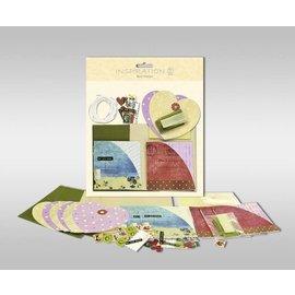 """KARTEN und Zubehör / Cards Sæt af kort, der skal personlig, """"hjerte"""", str. 7,8 x 13,5 cm,"""