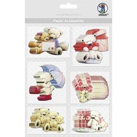 Embellishments / Verzierungen schede Chip, porta: 36 parti!
