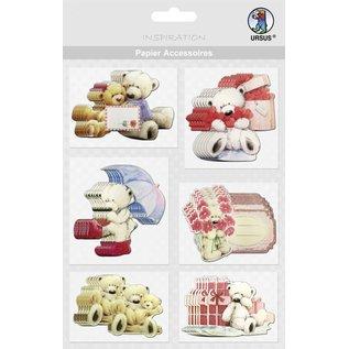 Embellishments / Verzierungen cartes à puce, porte: 36 parties!