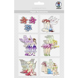 Embellishments / Verzierungen Accessoires de papier, motif 37