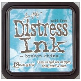 "Tim Holtz Tinta Distress ""china quebrado"""