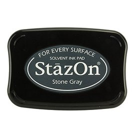 StaZon stamp ink - Stone Gray